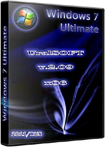 Windows 7 x86 Ultimate UralSOFT v. 2.09 (2011/RUS)