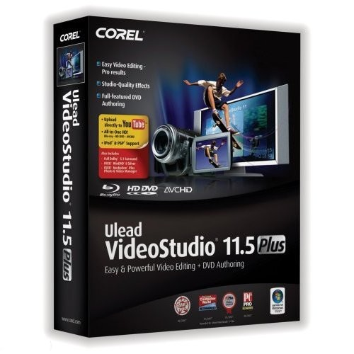 Ulead Video Studio 11.5 Plus 11.5 x86 [2007, ENG + RUS]