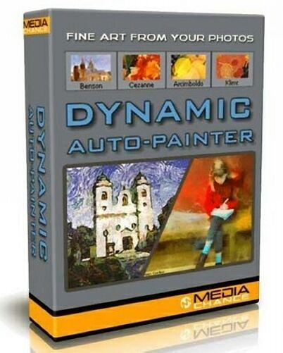 Mediachance Dynamic Auto-Painter 2.5.4 Rus + Тихая установка (x32/x64/ENG+Rus)