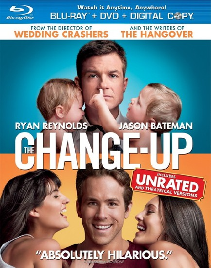 Хочу как ты / The Change-Up [UNRATED] (2011/HDRip/1400MB/700МВ)