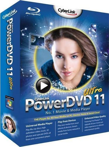 CyberLink PowerDVD 11.0.2211.53 Ultra - Тихая установка [Multi/Rus]