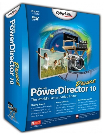 CyberLink PowerDirector 10 build 1005 x86 + Rus