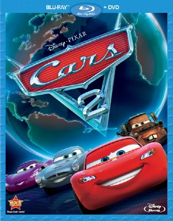 Тачки 2 / Cars 2 (2011/BDRip/HDRip/1400MB/700MB)