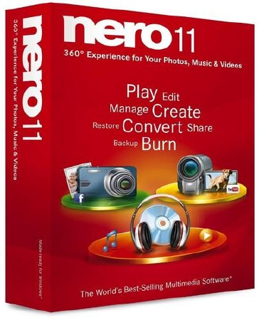 Nero Multimedia Suite 11.0.15500 Ru/En Lite + with WaveEditor Repack by MKN (13.10.2011)