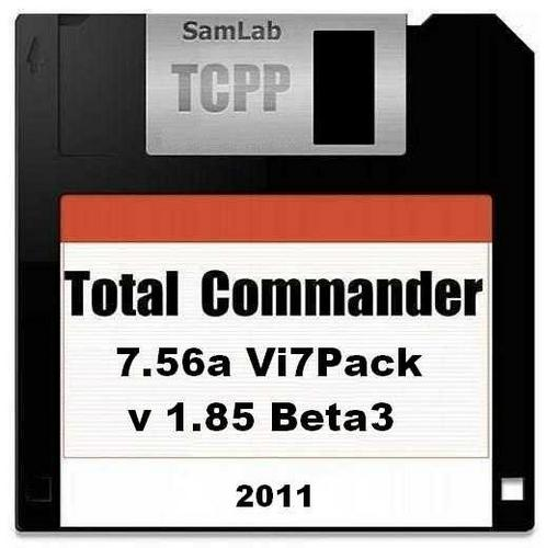 Total Commander 7.56a Vi7Pack 1.85 Beta 3