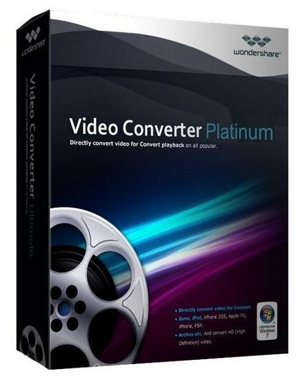 Wondershare Video Converter Platinum Build 5.1.4.3