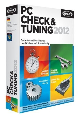 MAGIX PC Check & Tuning 2012 7.0.401.3