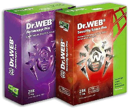 Dr.Web Anti-Virus + Dr.Web Security Space Pro 7.0.0.11071 Final [2011, Multilanguage +Rus]