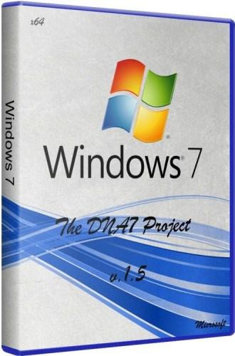 Windows 7 SP1 The DNA7 Project x64 v 1.5 (2011/RUS)