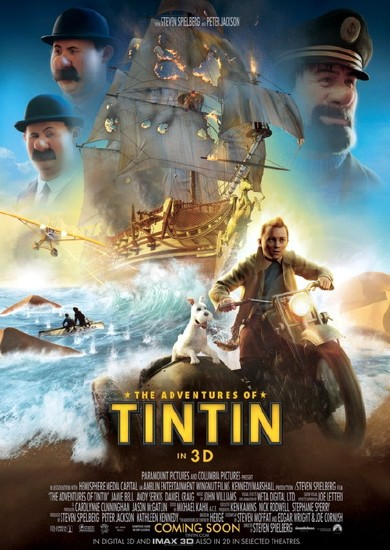 Приключения Тинтина: Тайна Единорога / The Adventures of Tintin (2011/CAMRip/1400МВ)
