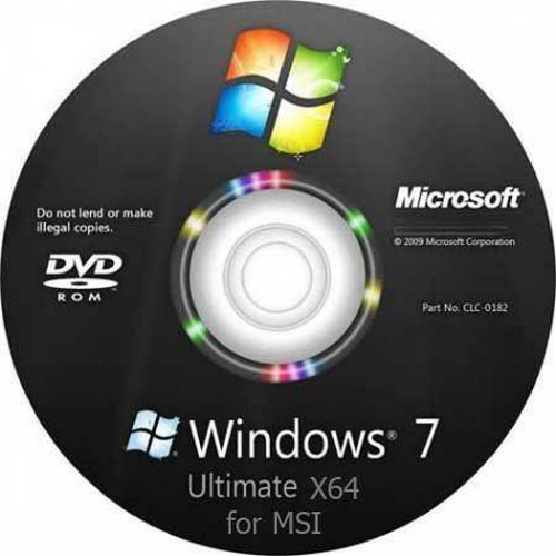 Windows 7 Ultimate x64 for MSI WindPad 110W (prepared by xalex & zhuk.m) (2011/RUS)