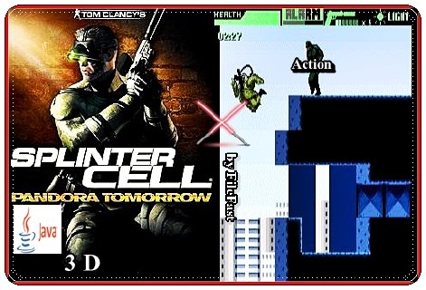 Splinter Cell Pandora Tomorrow 3D / Splinter Cell Пандора завтра 3D