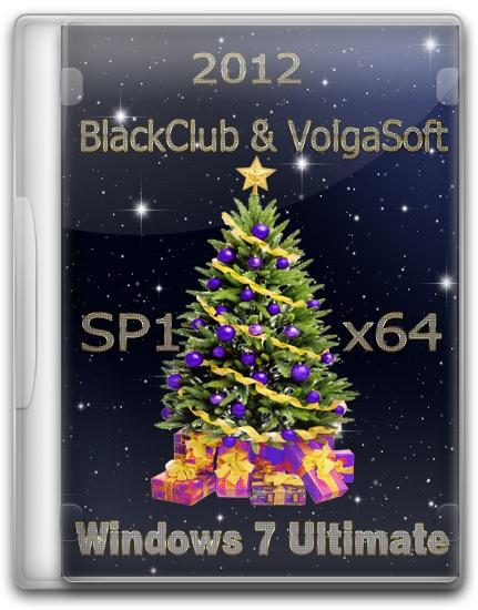 Windows 7 Ultimate SP1 x64 BlackClub & VolgaSoft