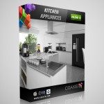 CGAxis Collection — Volume 10 Kitchen Appliances (V-Ray .max)