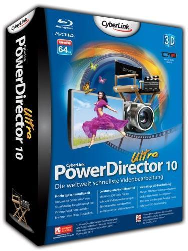 CyberLink PowerDirector 10 build 1012 RePack + Rus