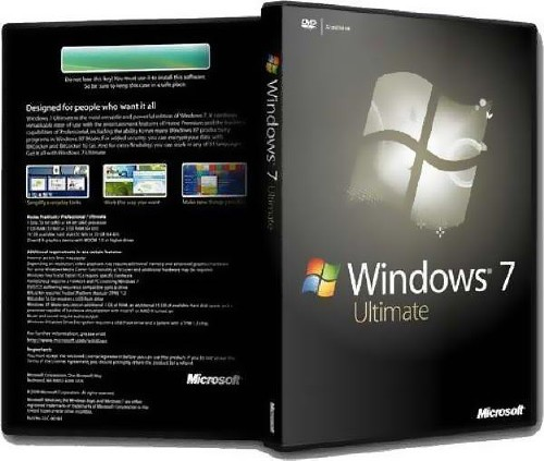 Windows 7 Ultimate SP1 Plus WPI x86 By StartSoft v 21.12.11 SP1 (2011/RUS)