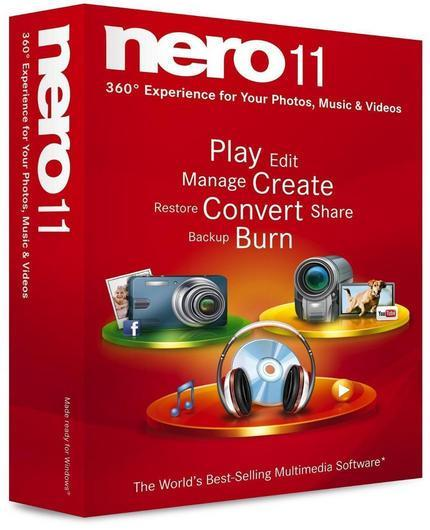 Nero Multimedia Suite 11.0.15500 Ru/En Lite v3 Repack by MKN