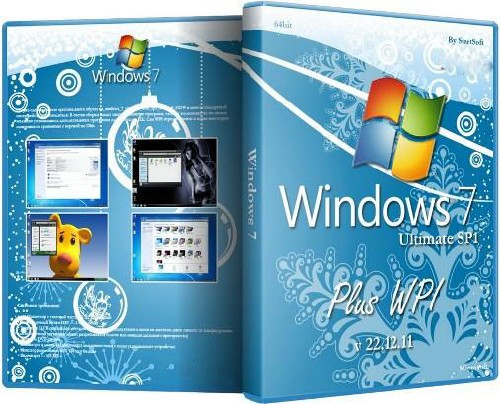 Windows 7 Ultimate SP1 Plus WPI 64bit By StartSoft v 22.12.11 (2011/RUS)