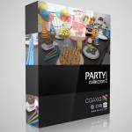 CGAxis Collection — Volume 13 Party Collection (.c4d, .obj, .max V-Ray, Mental Ray, Scanline)