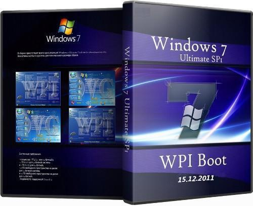 Microsoft Windows 7 Ultimate Ru x86 SP1 WPI Boot OVG 15.12.2011