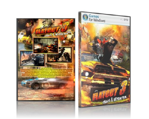 Flatout 3 Chaos & Destruction (ENG)[2011]